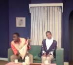 Harry Ebale and Wairimu Mwaura in Countdown