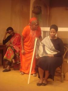 Tracy Mugo, Esther Neema and Njoki Ngumi in The House of Bernada Alba