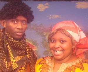 Martin Githinji and Margaret Karanja in Pirates of Nairobi Dam -Photo by Phoenix Players