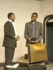 Kigondu and Githinji photo by Phoenix Players