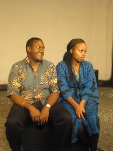 Sanya and Nyambura photo by Phoenix Players