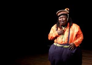 Mrisho Mpoto as Bw Falstaff (India Tour) Photo by Veronica Rodriguez