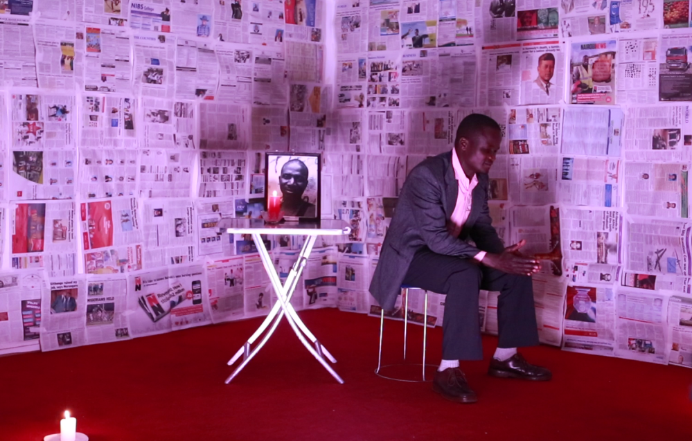 Simon Oyatsi in Eulogy of a Neat Man Photo by Lightbox Africa