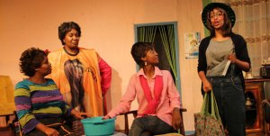 "June Gachui, Stella Njeri, Fridah Muhindi and Karen ""Kaz"" Lucas in Steele Magnolias Photo: Nationmedia"