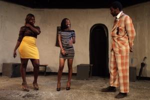 Angel Gabriel (Ndaiga) and the Socialites(Maina and Wanjiku)
