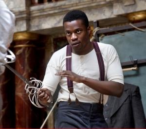 Ladi Emeruwa as Hamlet Photo by Shakespeare's Globe